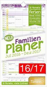 Familienkalender 2017 Platz 3