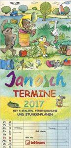 Familienkalender Janosch 2017 Platz 6